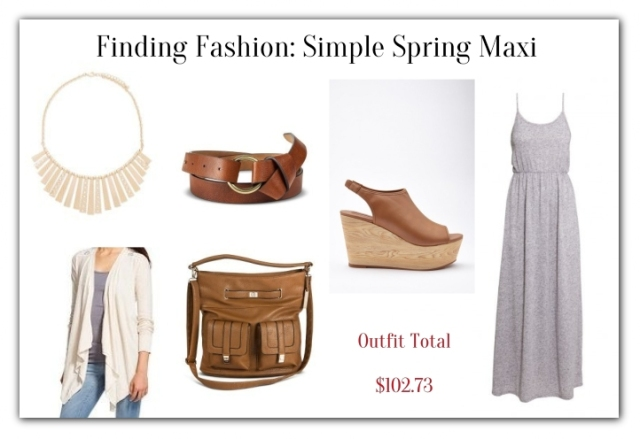 Finding Fashion-Simple Spring Maxi
